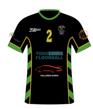 FLOORBALL ESCORIAL INFANTIL - uniforme 1